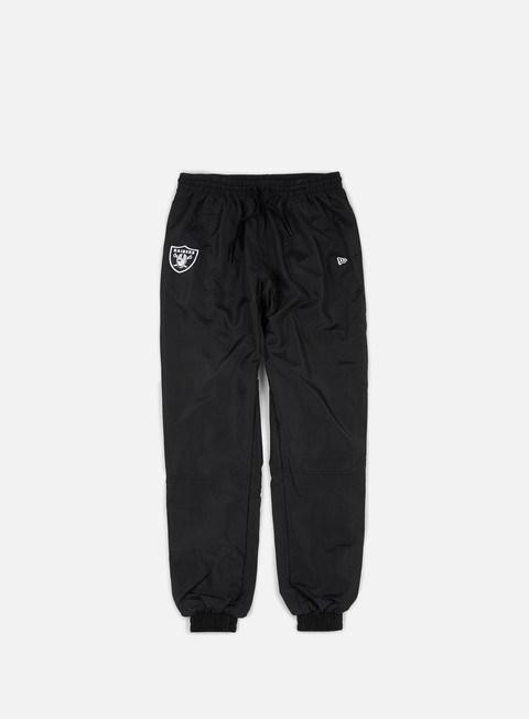 pantaloni new era team apparel woven pant oakland raiders black