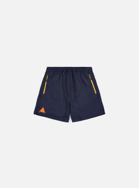pantaloni nike acg woven short obsidian rush orange vivid sulfur