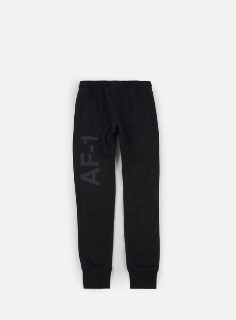pantaloni nike af1 jogger pant black black