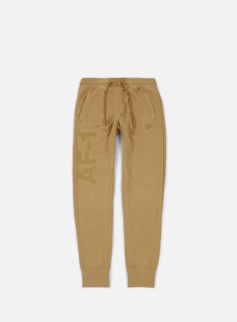 pantaloni nike af1 jogger pant golden beige golden beige