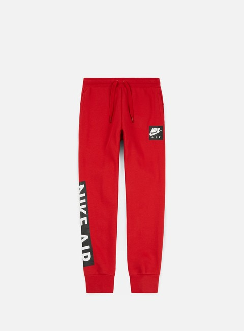 pantaloni nike air fleece pant gym red gym red