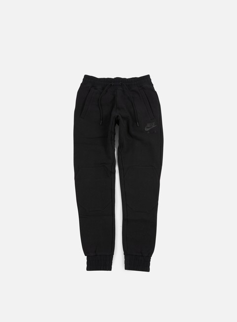 pantaloni nike air hybrid jogger pant black black