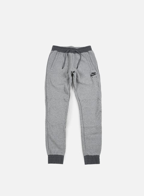 pantaloni nike air hybrid jogger pant carbon heather black