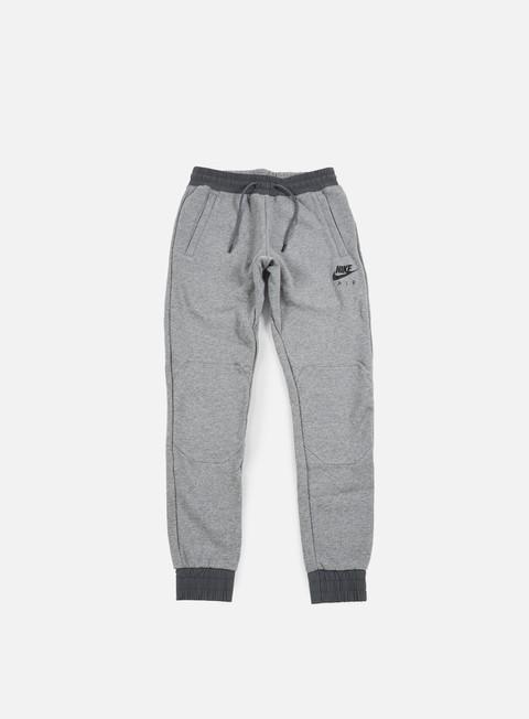 pantaloni nike air hybrid jogger pant carbon heather black