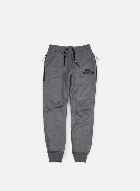 pantaloni nike air jogger pant carbon heather