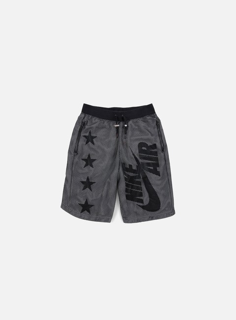 pantaloni nike air pivot v3 mesh short black black white