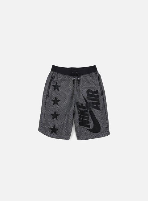 pantaloni nike air pivot v3 mesh short black black white