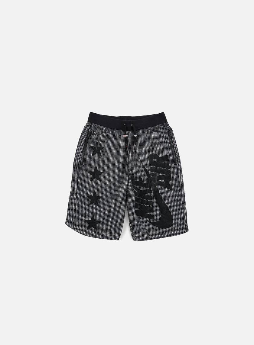 Nike - Air Pivot V3 Mesh Short, Black/Black/White