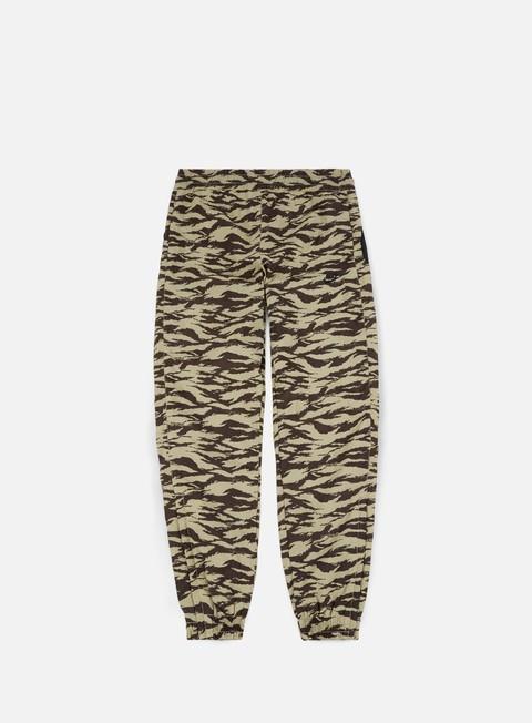pantaloni nike aop swoosh woven pant khaki black