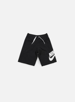 Nike - AW77 Alumni Short, Black/White 1