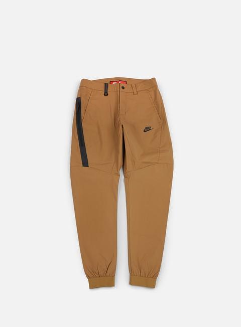 pantaloni nike bonded jogger pant golden beige black