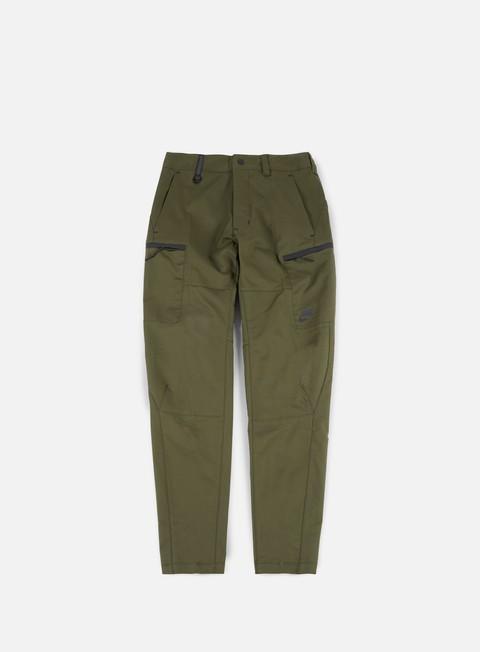 pantaloni nike bonded pant cargo khaki black