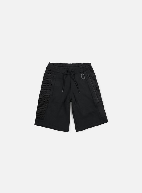 pantaloni nike court short black black white