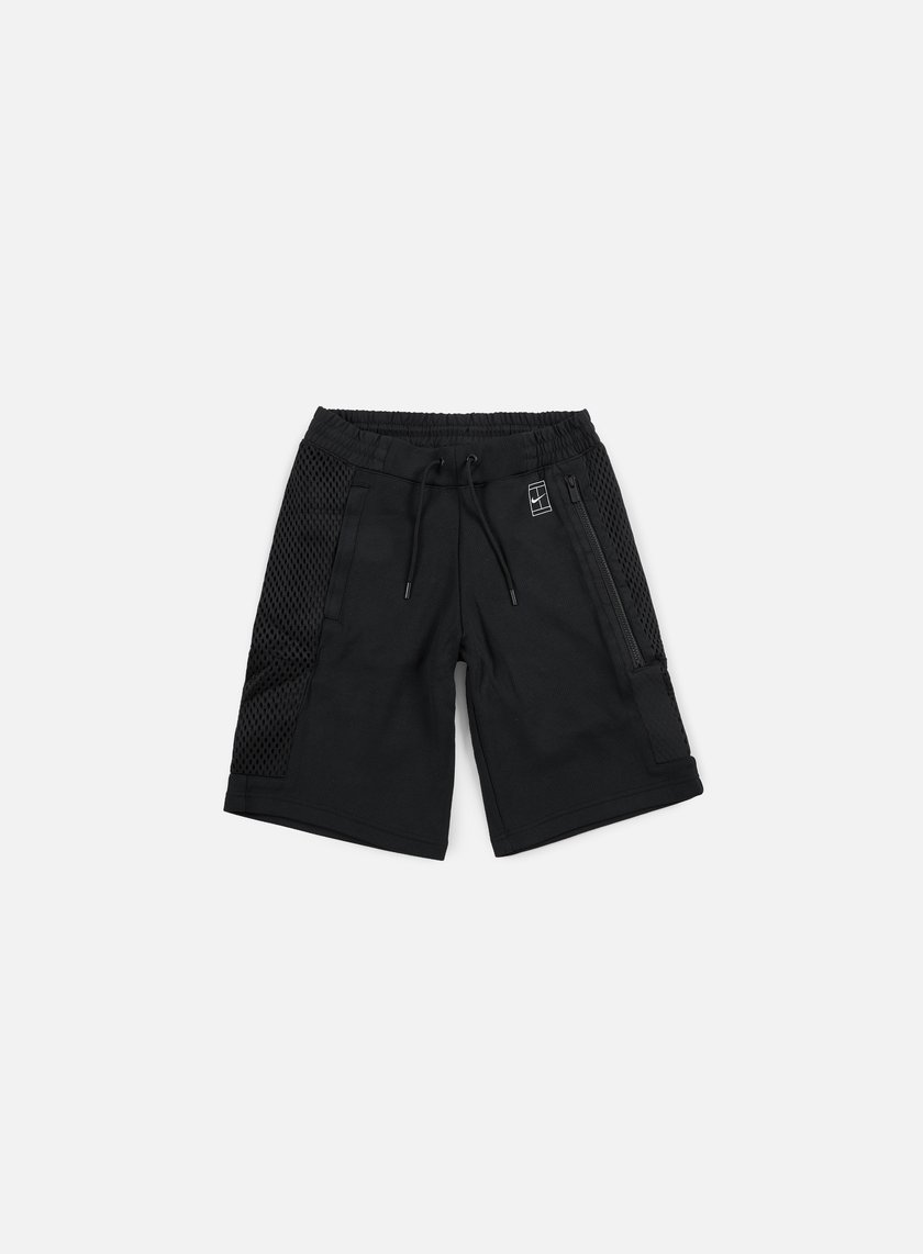 Nike - Court Short, Black/Black/White