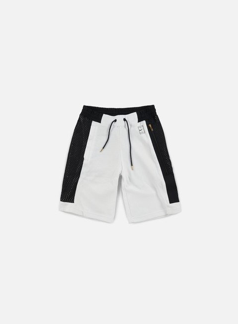 pantaloni nike court short white black white