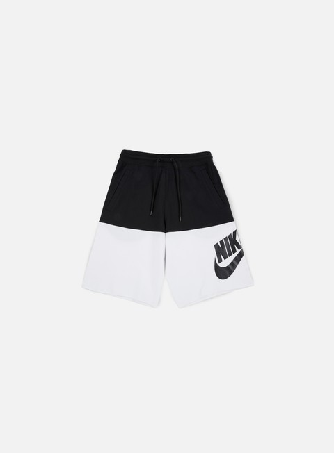 pantaloni nike franchise french terry short black black