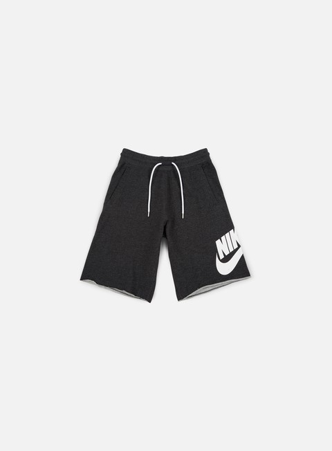 pantaloni nike ft gx 1 short black heather white