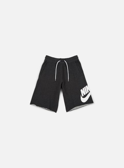 pantaloni nike ft gx 1 short black heather white