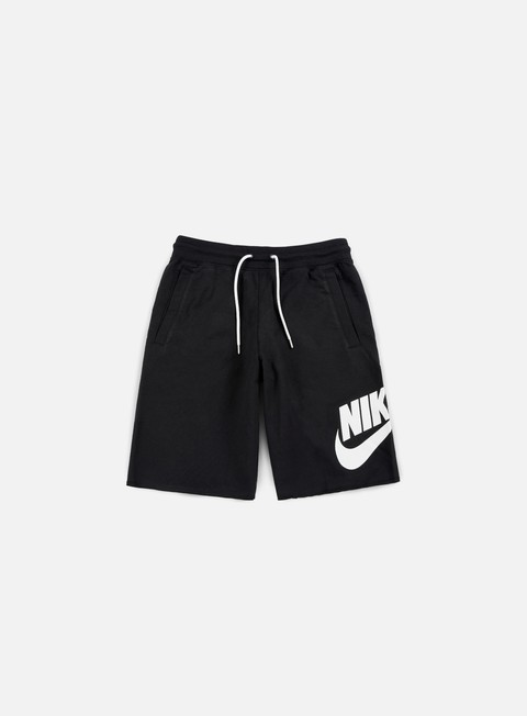 pantaloni nike ft gx 1 short black white
