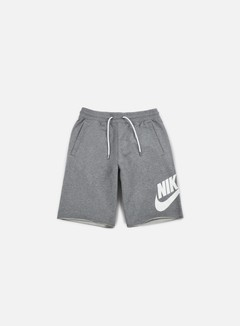 Nike - FT GX 1 Short, Carbon Heather/White