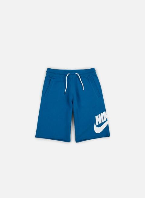 pantaloni nike ft gx 1 short industrial blue white