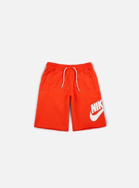 pantaloni nike ft gx 1 short max orange white