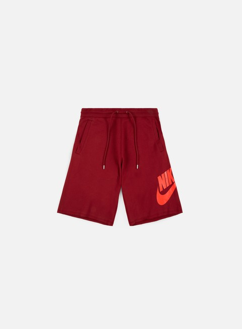 pantaloni nike ft gx 1 short team red rush coral
