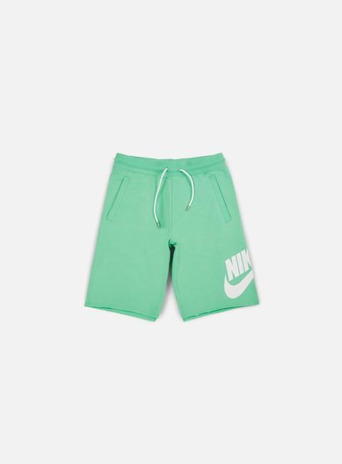 pantaloni nike ft gx 1 short tourmaline white