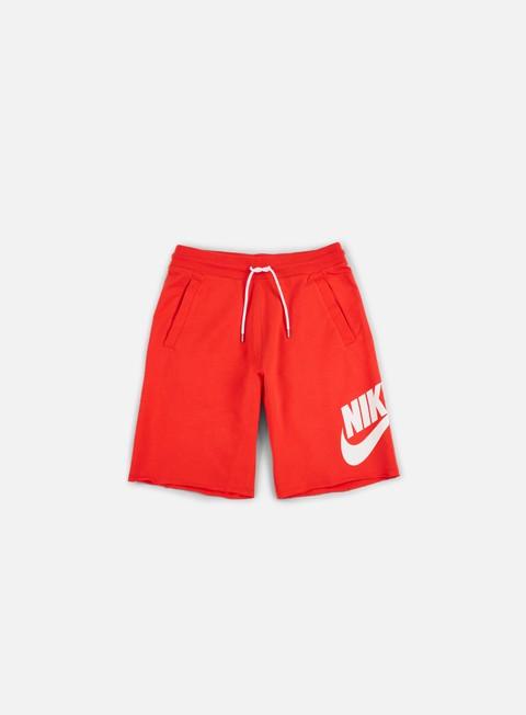 pantaloni nike ft gx 1 short track red white