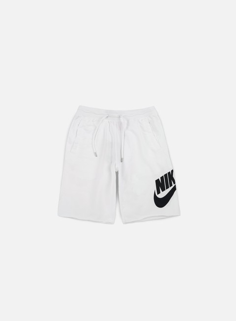 pantaloni nike ft gx 1 short white black