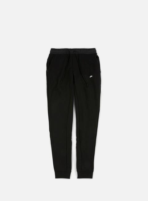 pantaloni nike modern jogger fleece pant black black