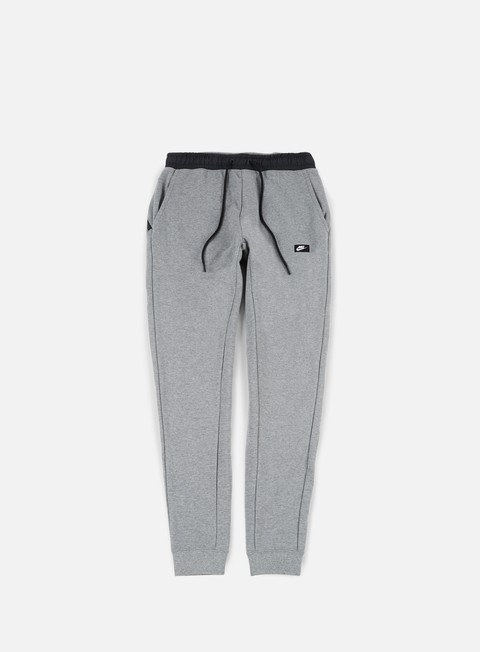 pantaloni nike modern jogger fleece pant dark grey heather black