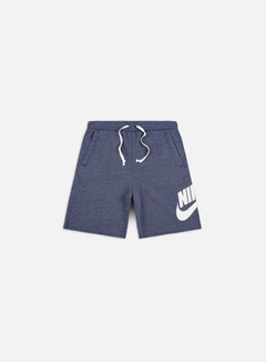 Nike - NSW Alumni Shorts, Blue Void/Heather/Sail