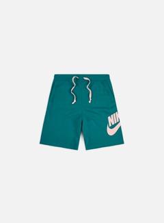 Nike - NSW Alumni Shorts, Bright Spruce/Washed Coral