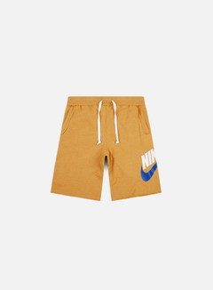 Nike - NSW Alumni Shorts, Gold Suede/Heather/Sail
