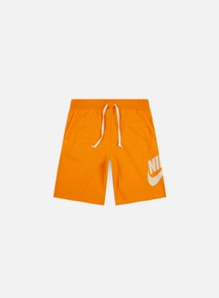 Nike - NSW Alumni Shorts, Orange Peel/Light Cream