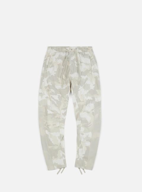 pantaloni nike nsw camo woven pant summit white white