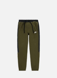 Nike - NSW CF Core Winter Pant, Olive Canvas/Black/White