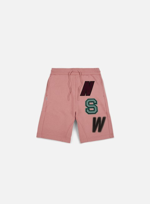 pantaloni nike nsw fleece short rust pink