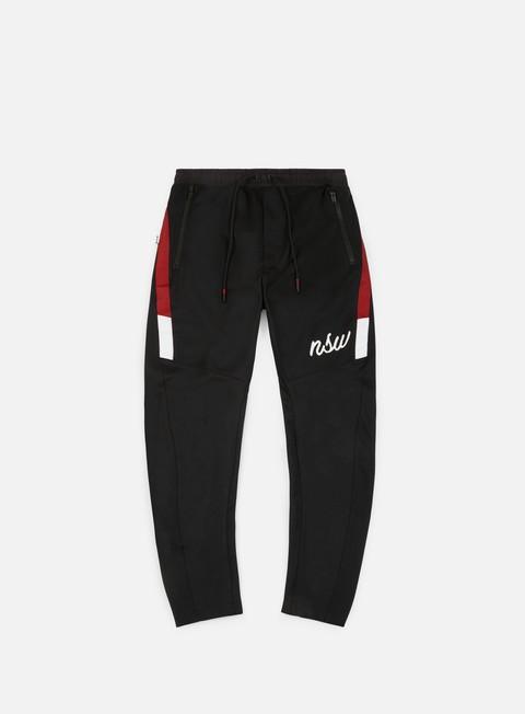 pantaloni nike nsw oh pant black white