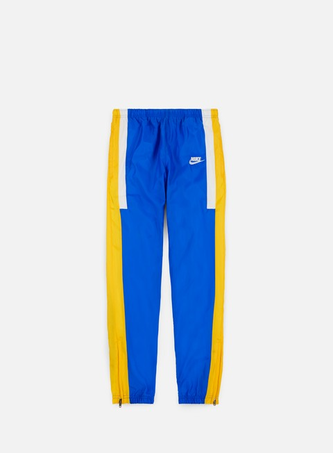 pantaloni nike nsw re issue woven pant signal blue sail