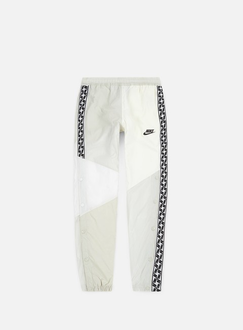 pantaloni nike nsw taped woven pant sail black