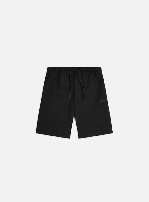 Nike Nsw Tech Fleece Shorts Men Black Black Graffitishop