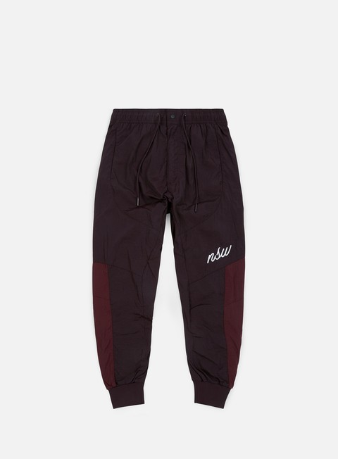 pantaloni nike nsw woven jogger burgundy ash burgundy crush summit white