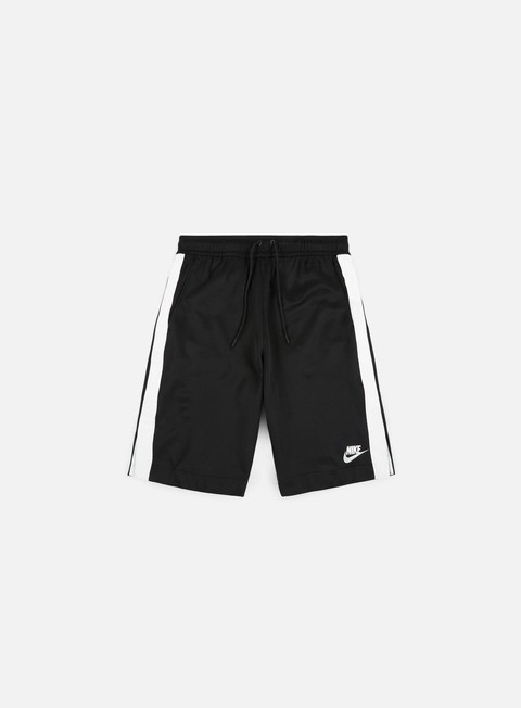 pantaloni nike poly track tribute short black white