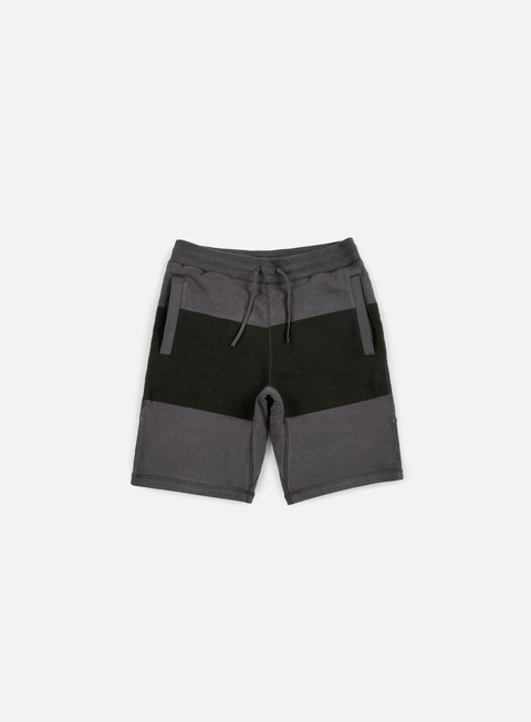 pantaloni nike sb everett short stripe anthracite black