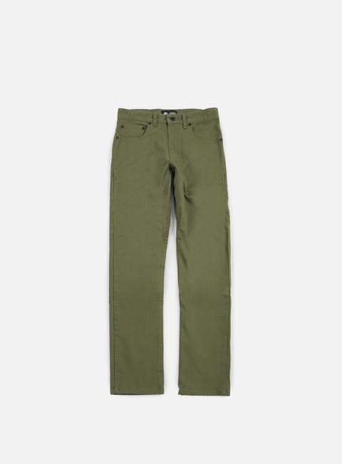 pantaloni nike sb ftm 5 pockets pant medium olive