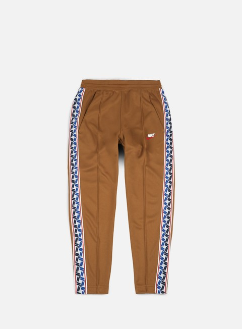 pantaloni nike taped pant ale brown sail