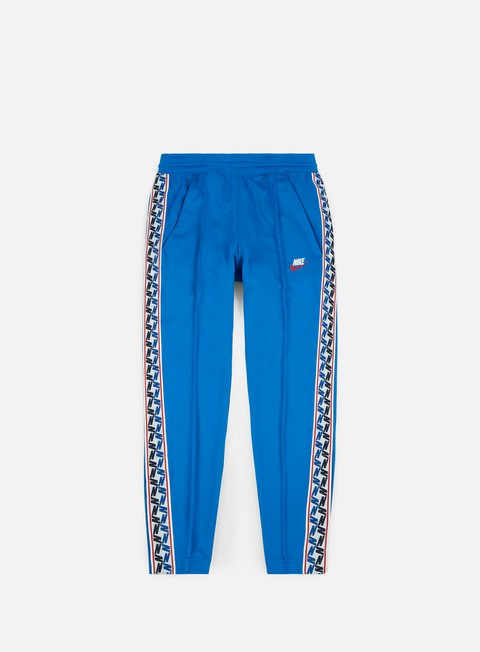 pantaloni nike taped pant blue nebula sail