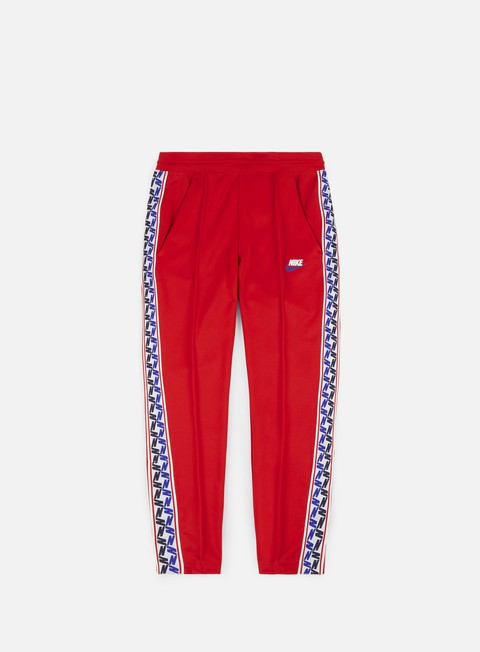 pantaloni nike taped pant university red sail